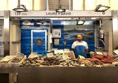 Puesto 159 – Pescadería Laura y David
